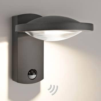 HUGO - buitenwandlamp met bewegingsmelder
