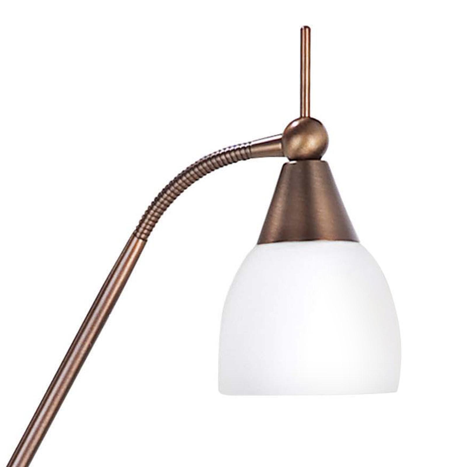 Produktové foto Hight Light B.V. Bronzovaná stojací lampa Touchy 3stupňový přepínač