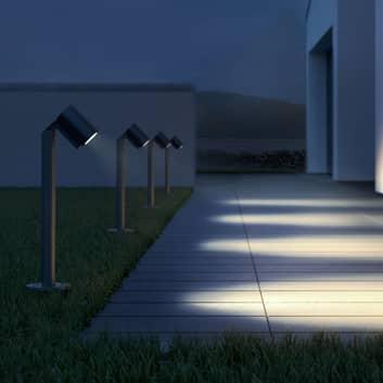 STEINEL Spot Way bolardo luminoso LED, giratorio