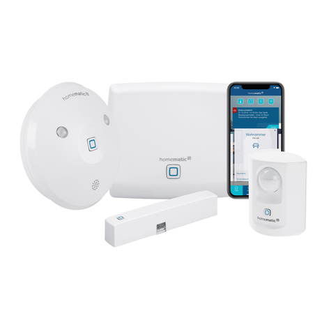 Homematic IP set de démarrage alarme