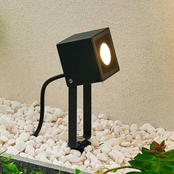 ELC Jalal foco de exterior LED con pica de tierra