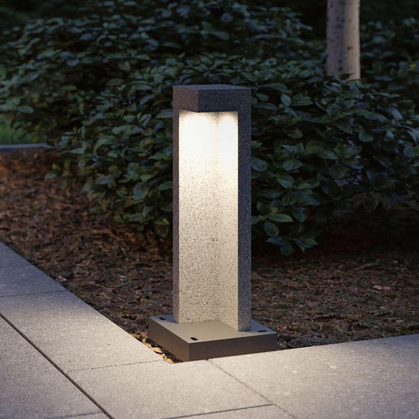 Paulmann Concrea LED-sokkellampe, høyde 45 cm