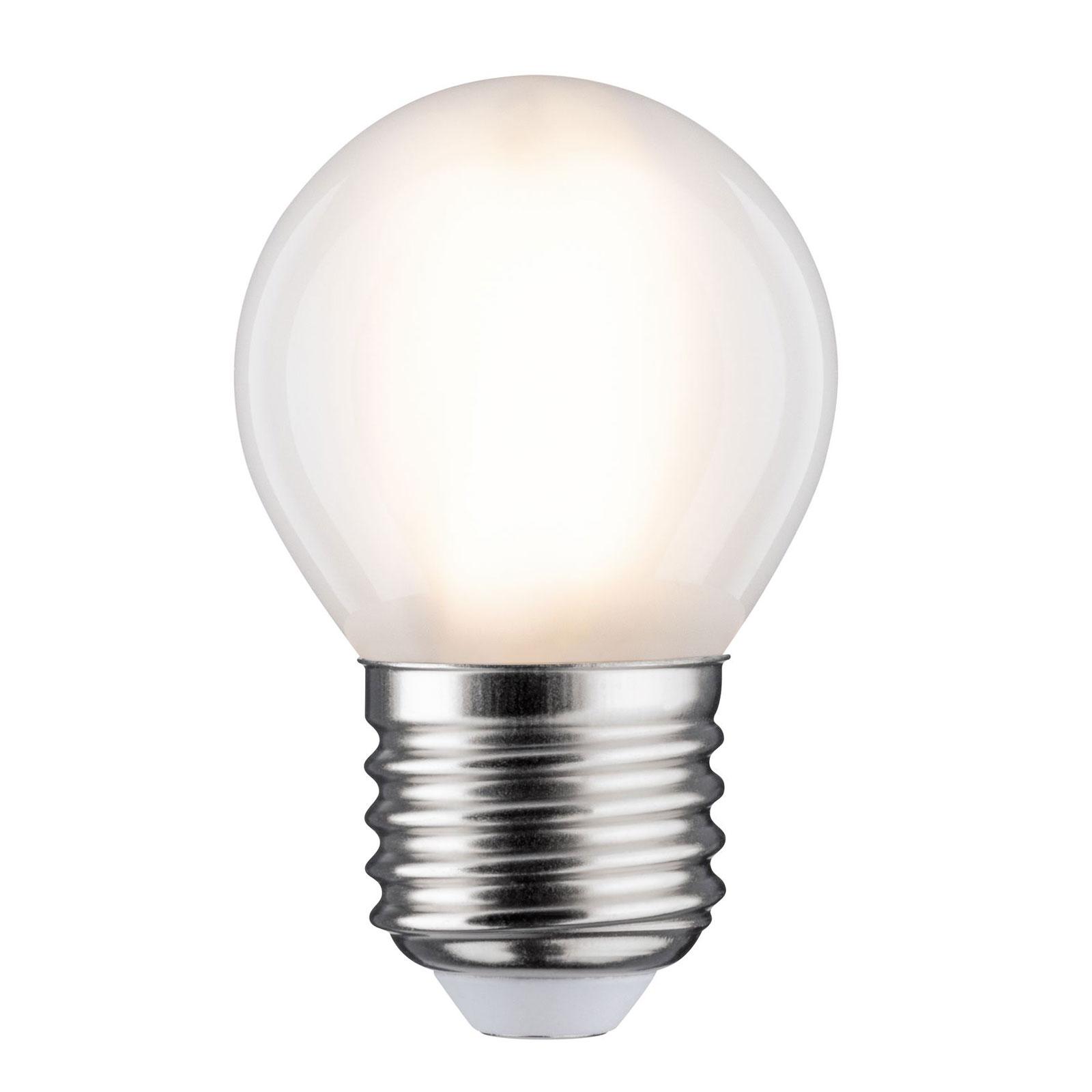 LED žárovka E27 5W kapka 2700K matná