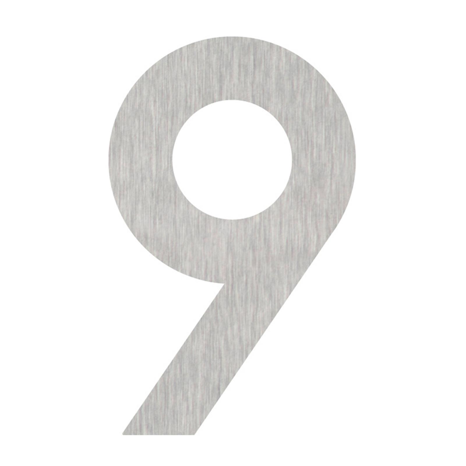Produktové foto Heibi Domovní čísla číslice 9