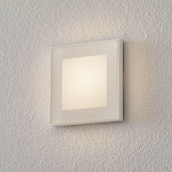 BEGA Accenta LED-vägginbyggnad kantig yttre ring