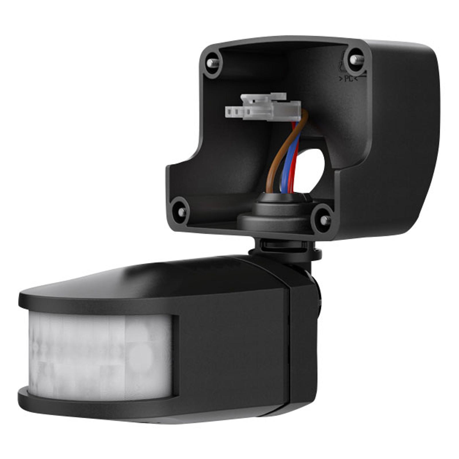 Theben theLeda B-sensor RC + fjernstyrt, svart