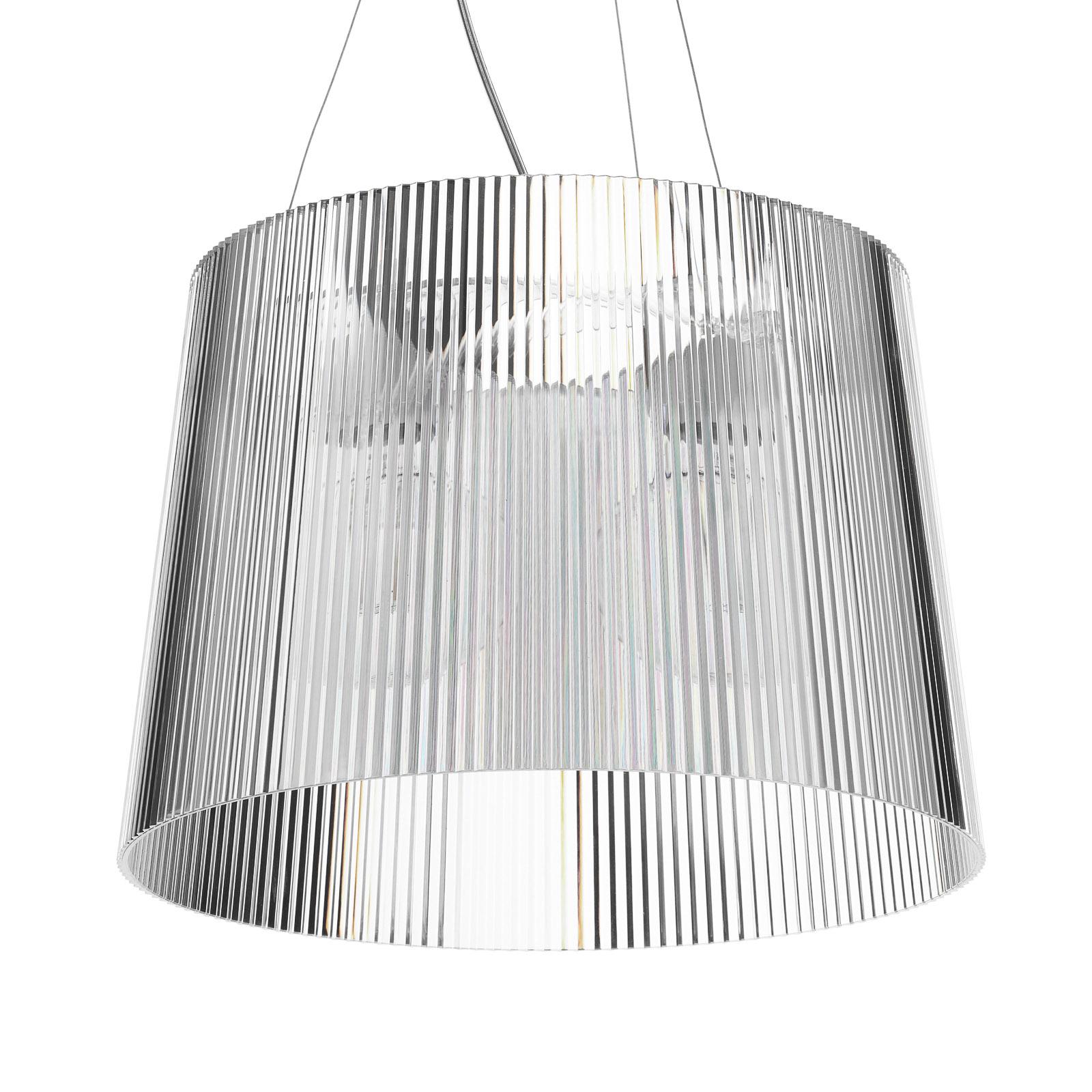 Kartell Gè - LED-Pendellampe, transparent