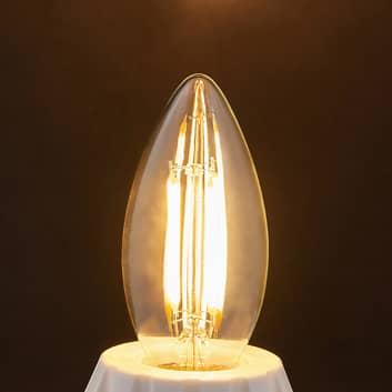 E14-LED-filamenttikynttilälamppu 4W 470 lm 2700 K