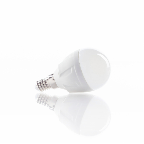 Lampe LED goutte E14 6W 830 blanc chaud