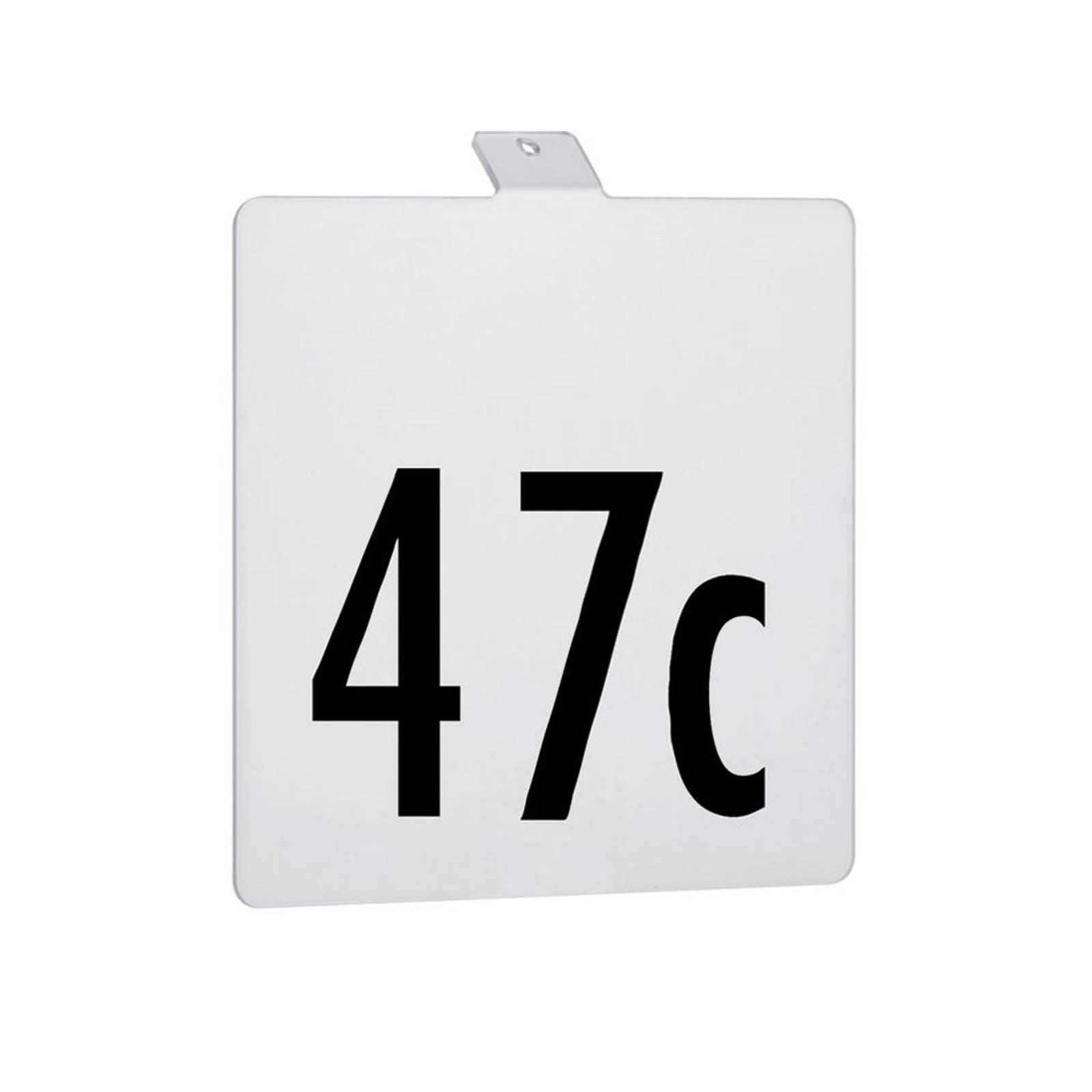 Paulmann house number for Soley LED solar light