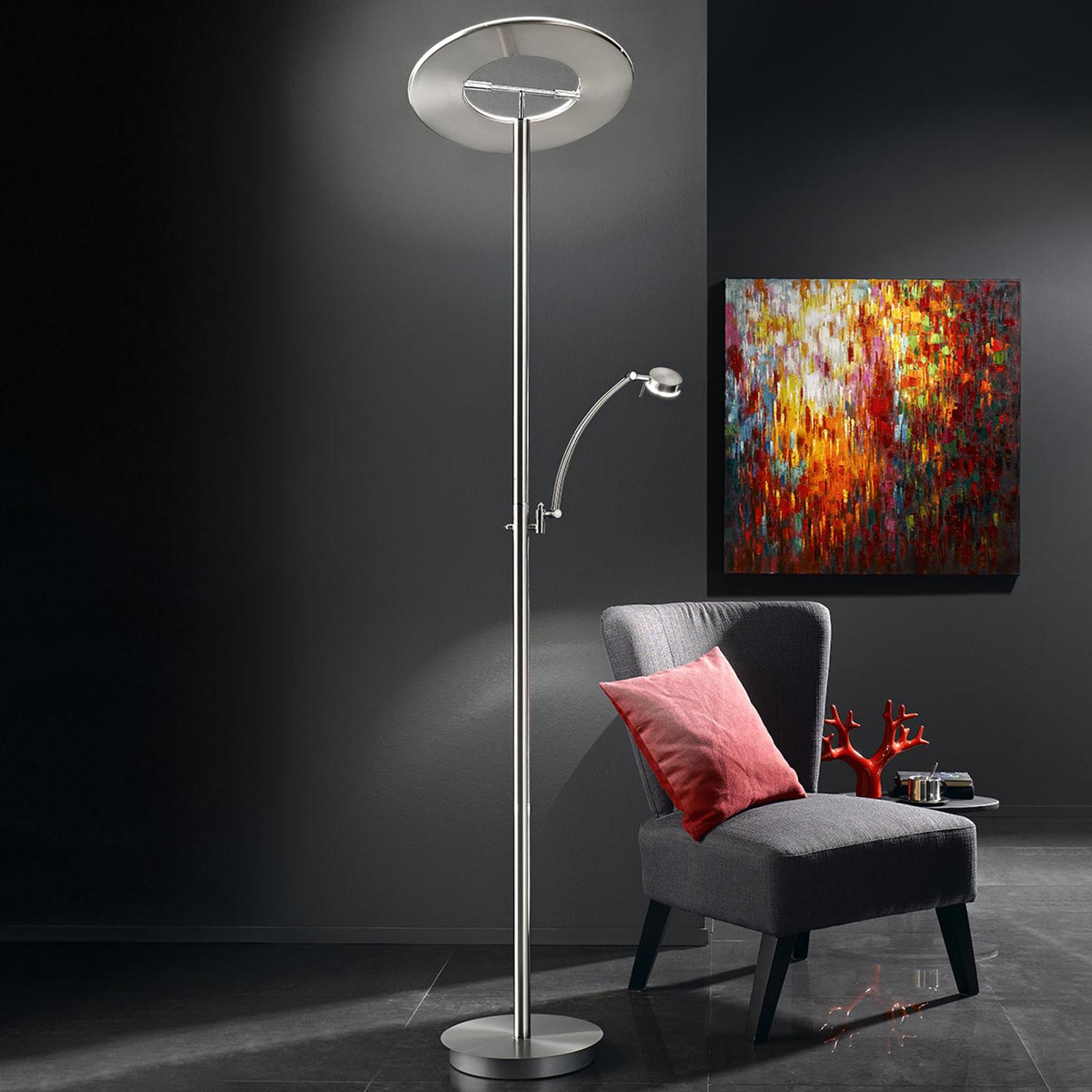 B-Leuchten Monza lampa sufitowa LED matowy nikiel