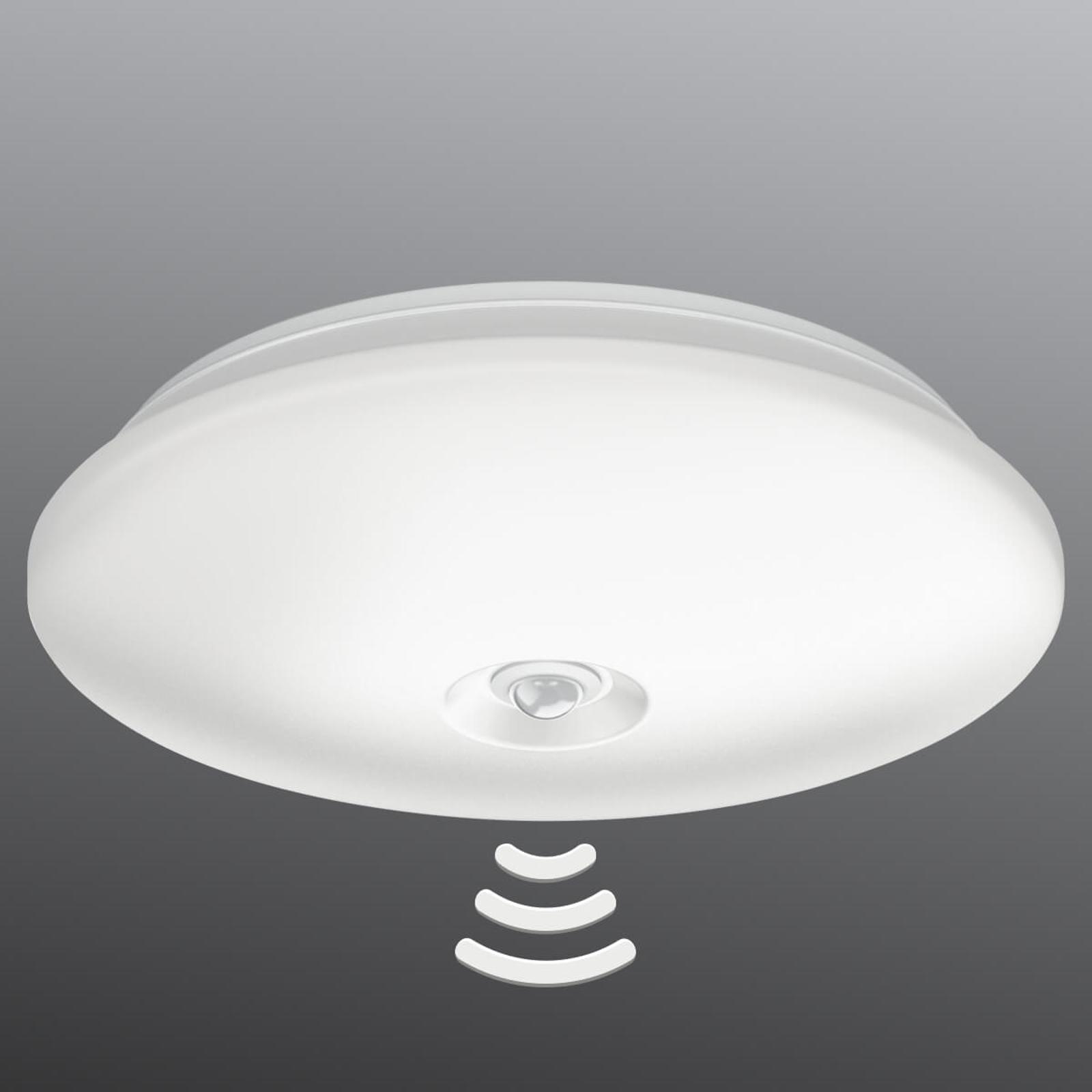 Lampa sufitowa LED Mauve z czujnikiem IR, Ø 32 cm