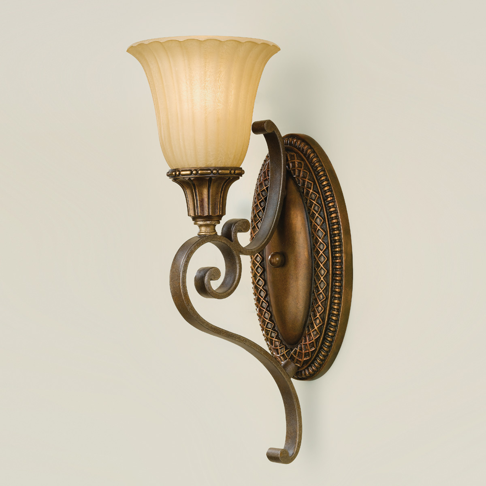 Wandlamp KELHAM HALL brons-goud