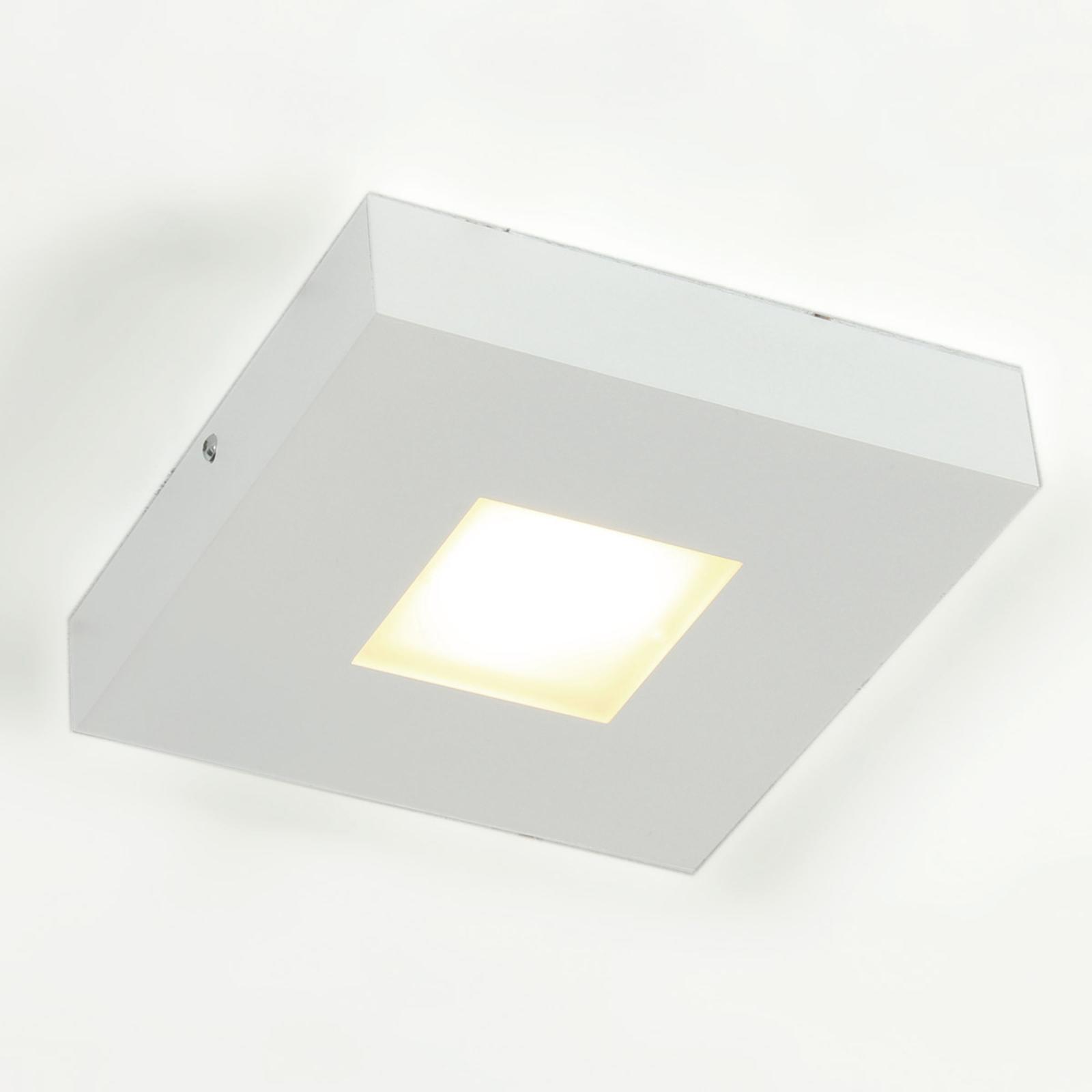 Førsteklasses LED-loftslampe Cubus, hvid
