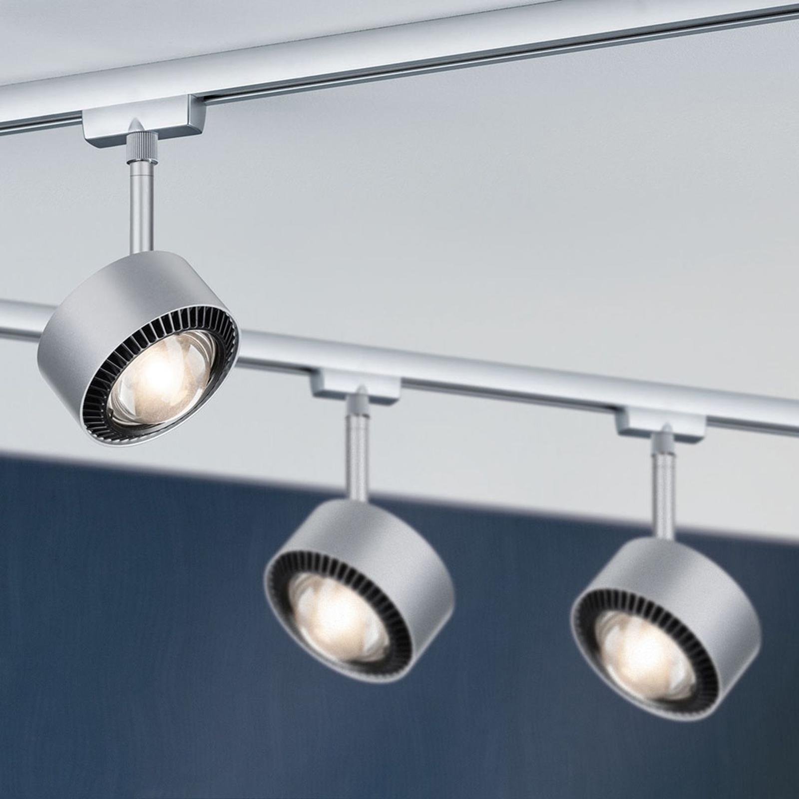 Paulmann LED-Spot Aldan URail chrom matt/schwarz