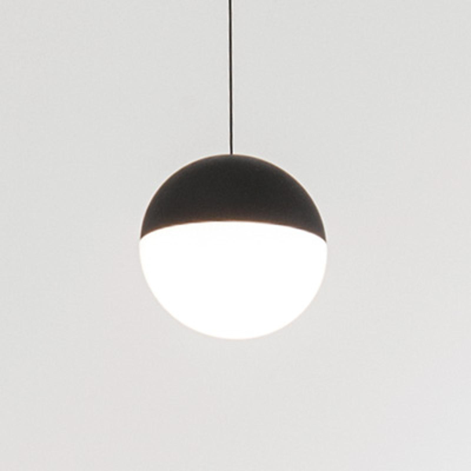 FLOS String light – závesná lampa, 12m kábel, guľa