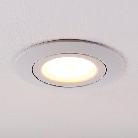 LED-Einbaustrahler Andrej, rund, weiß
