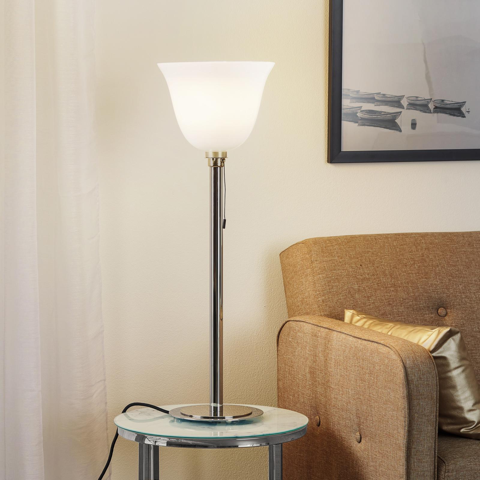 Art Déco-stålampe etter fransk skisse