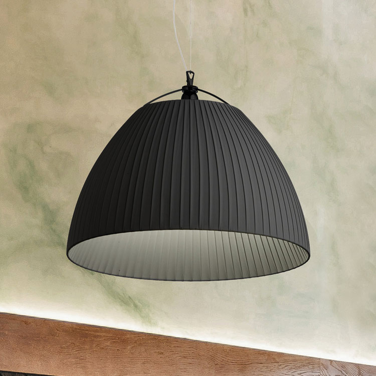 Modo Luce Olivia lampa wisząca Ø 42 cm czarna