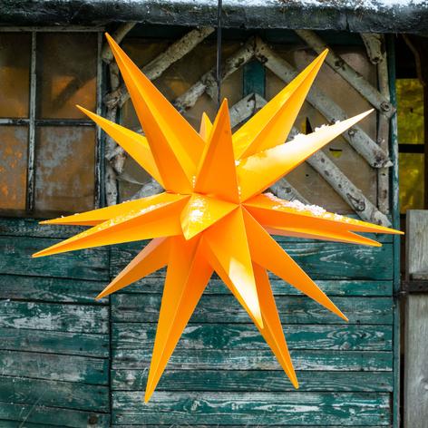 Decoratie-ster XXL buiten, 18-punten, Ø 80 cm