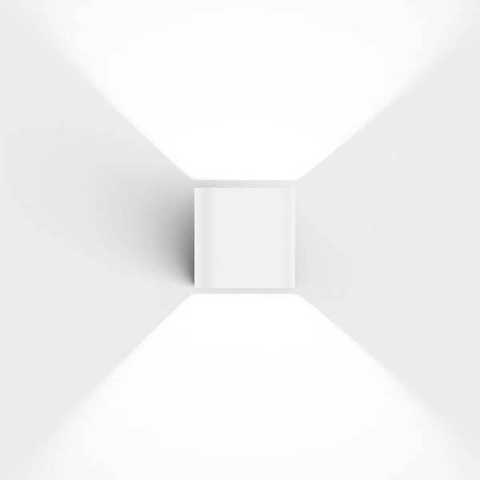 IP44.de Intro 2.0 LED-Außenwandleuchte, pure white