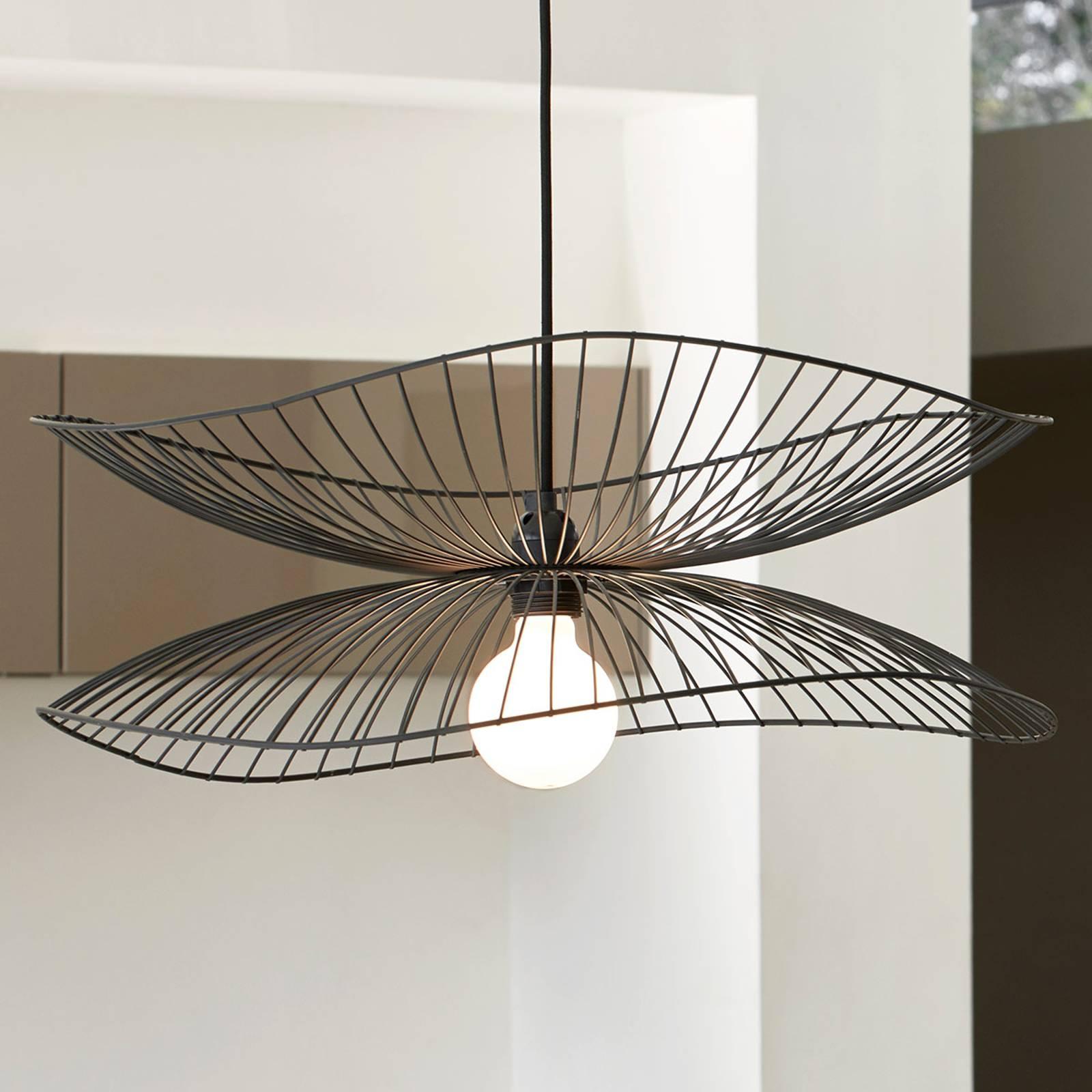 Forestier Libellule S hanglamp, 56 cm, zwart
