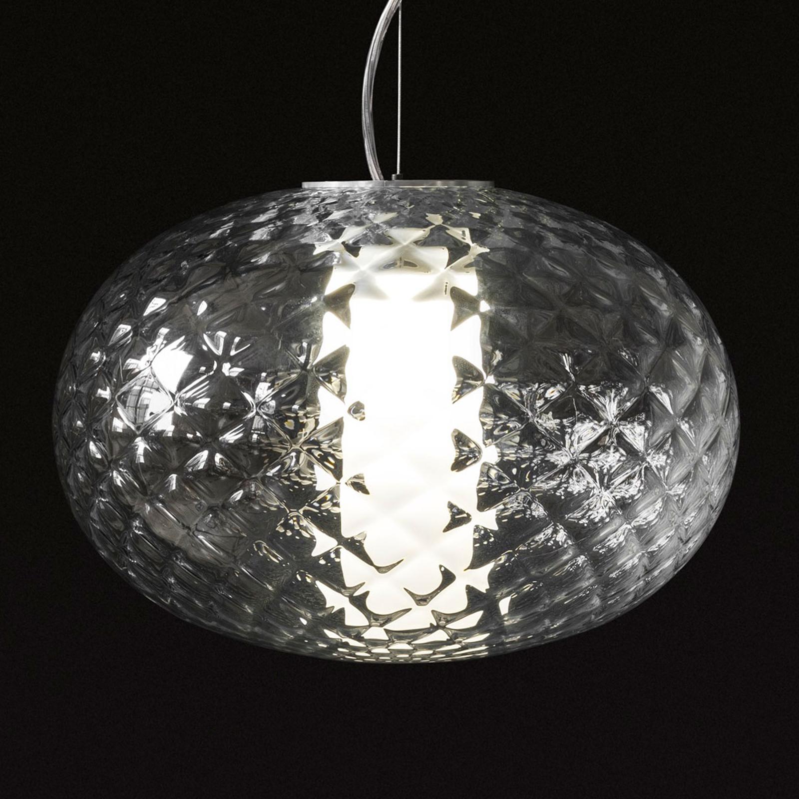 Oluce Recuerdo - szklana lampa wisząca z LED