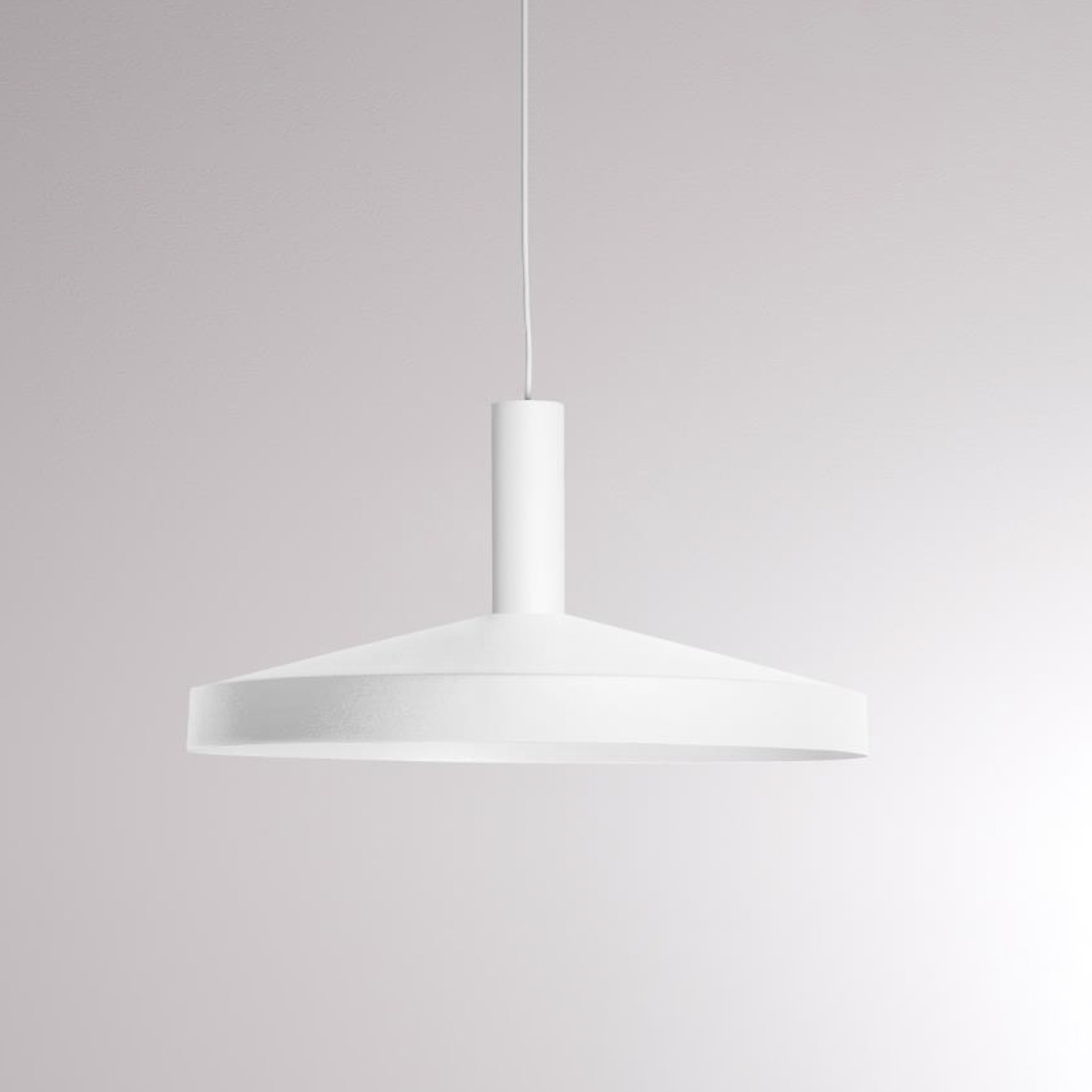 LOUM Lora Shade 3 LED-hængelampe, 2.700 K, hvid