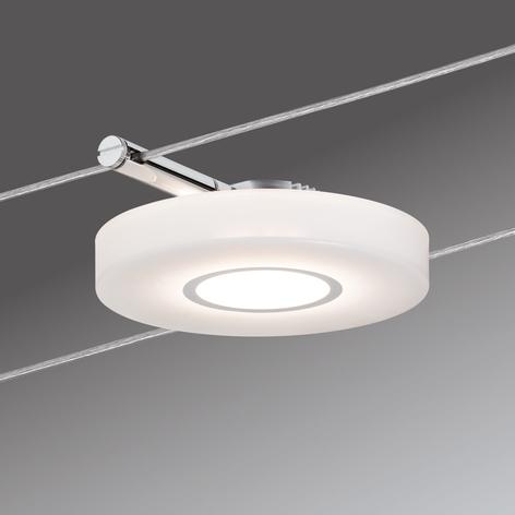 Enkellampe for vaiersystem DiscLED 12 V DC