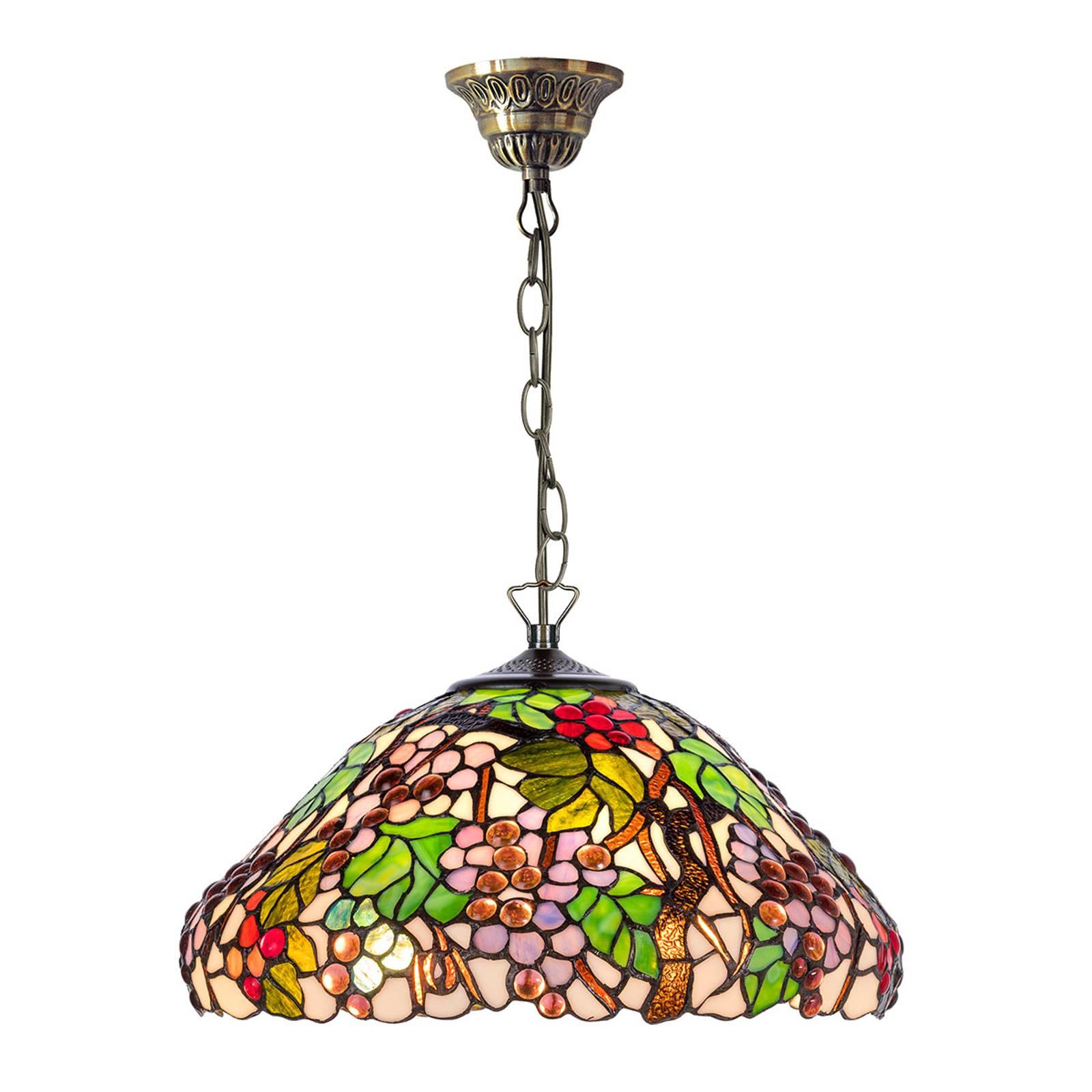 Lampa wisząca KT9810+C2 w stylu Tiffany