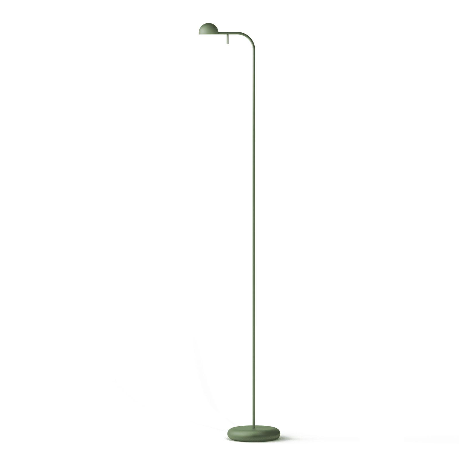 Vibia Pin 1660 LED vloerlamp, 125 cm, groen
