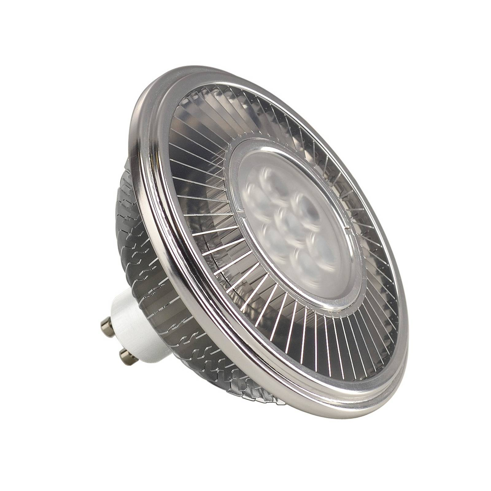 SLV LED riflettore GU10 111mm 13W 30° 2.700 K
