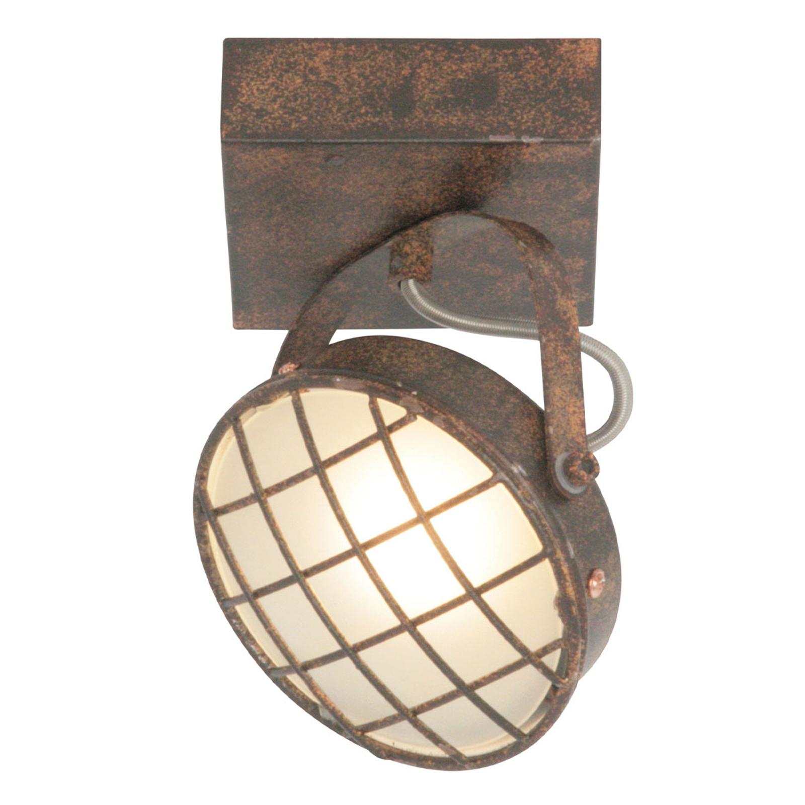 LED-Deckenleuchte Lazaro, rostbraun, 1-flammig