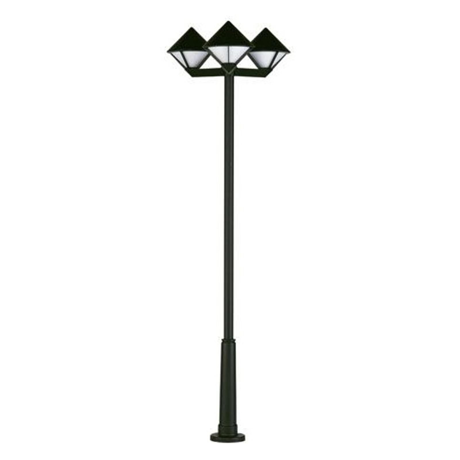 Modern post light 181, three-bulb_4001181_1