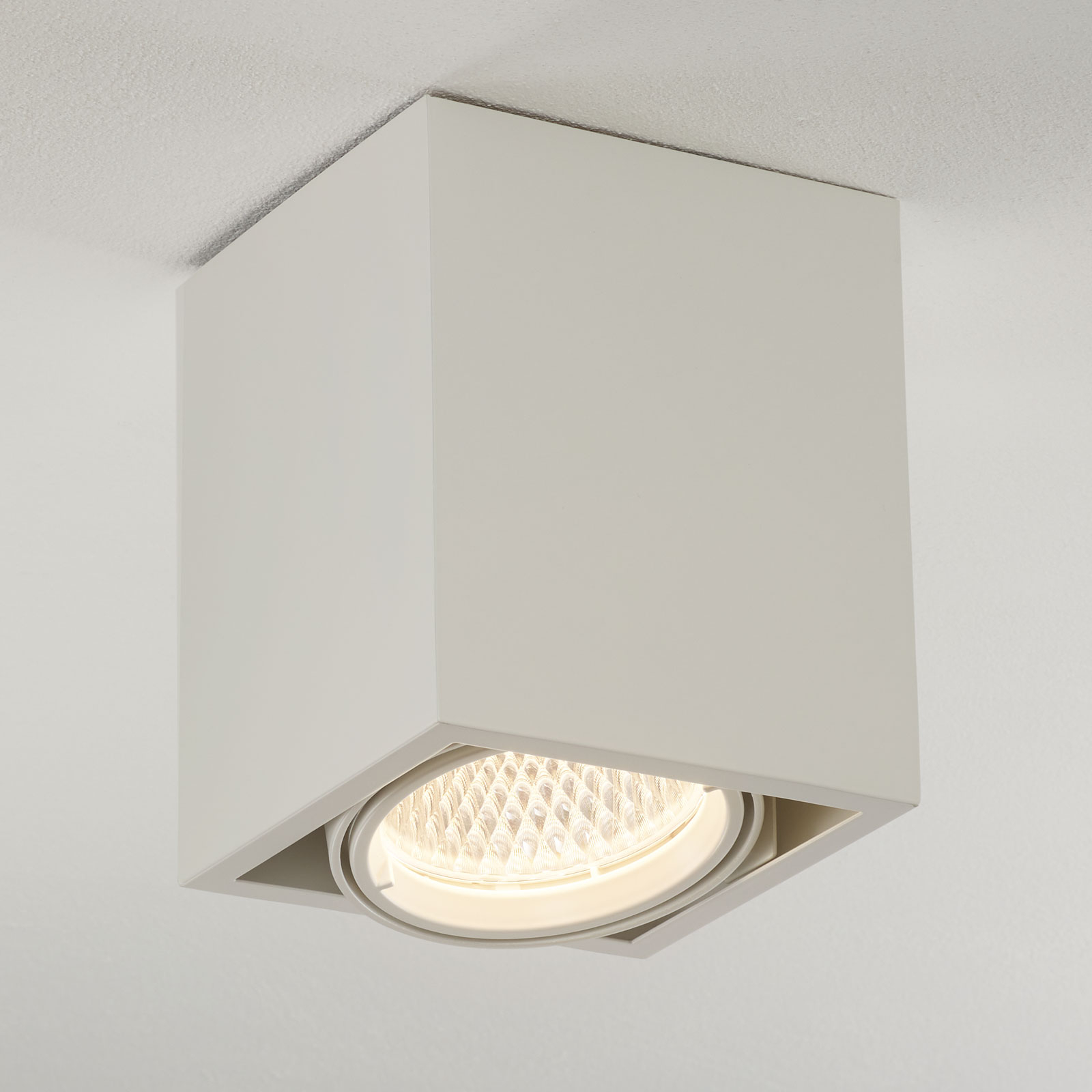 Arcchio Cirdan lampa sufitowa LED 1-punktowa biała