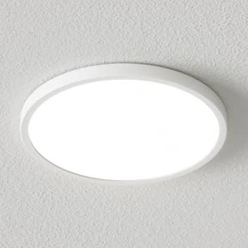Dimbar LED-taklampa Solvie i vitt