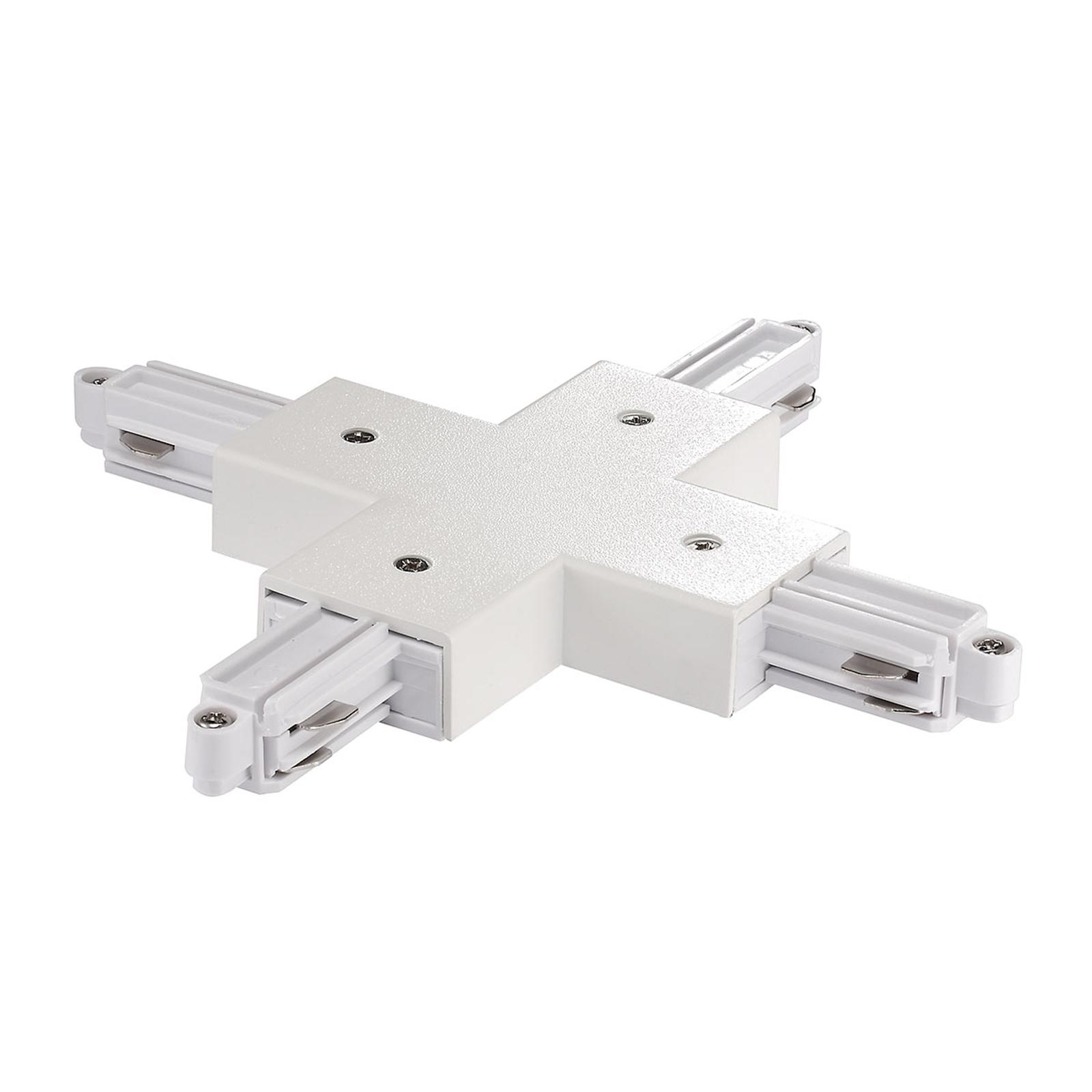 X-kontakt for strømskinne Link, hvit