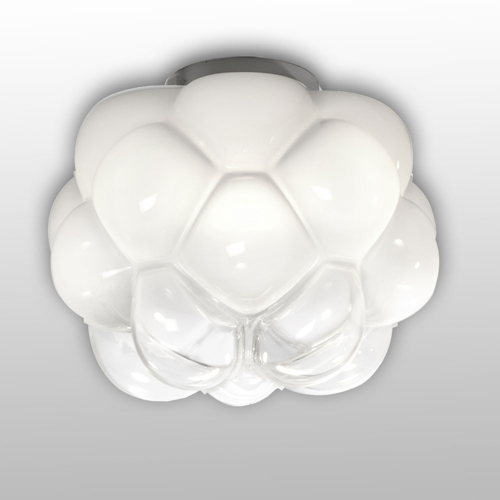Molnformad LED-taklampa Cloudy, 26 cm