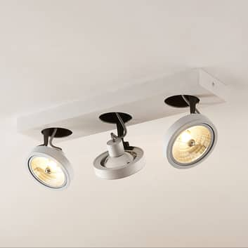 Arcchio Jorvin loftlampe, 3 lyskilder, hvid