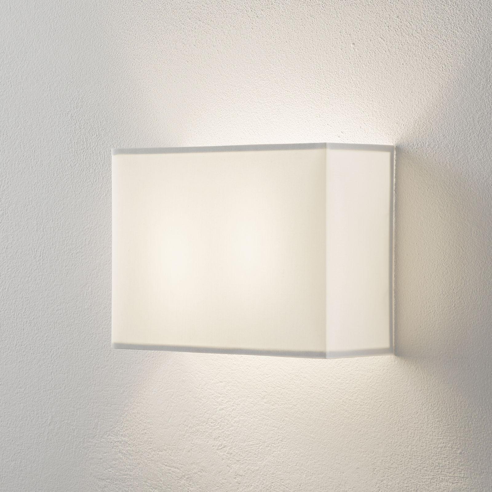 Lucande Patrik wandlamp hoekig 22cm wit