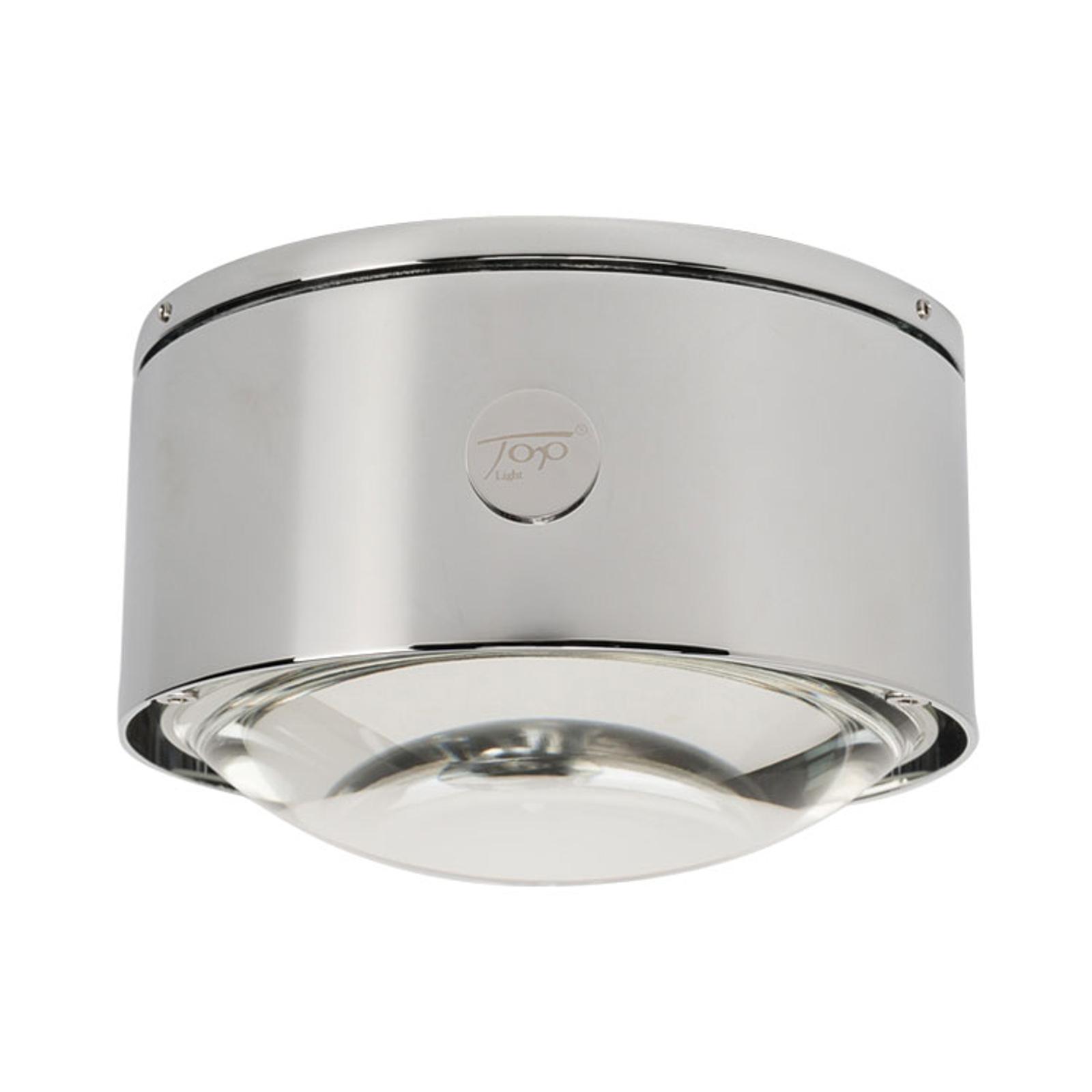 LED plafondlamp Puk Maxx One 2, mat chroom