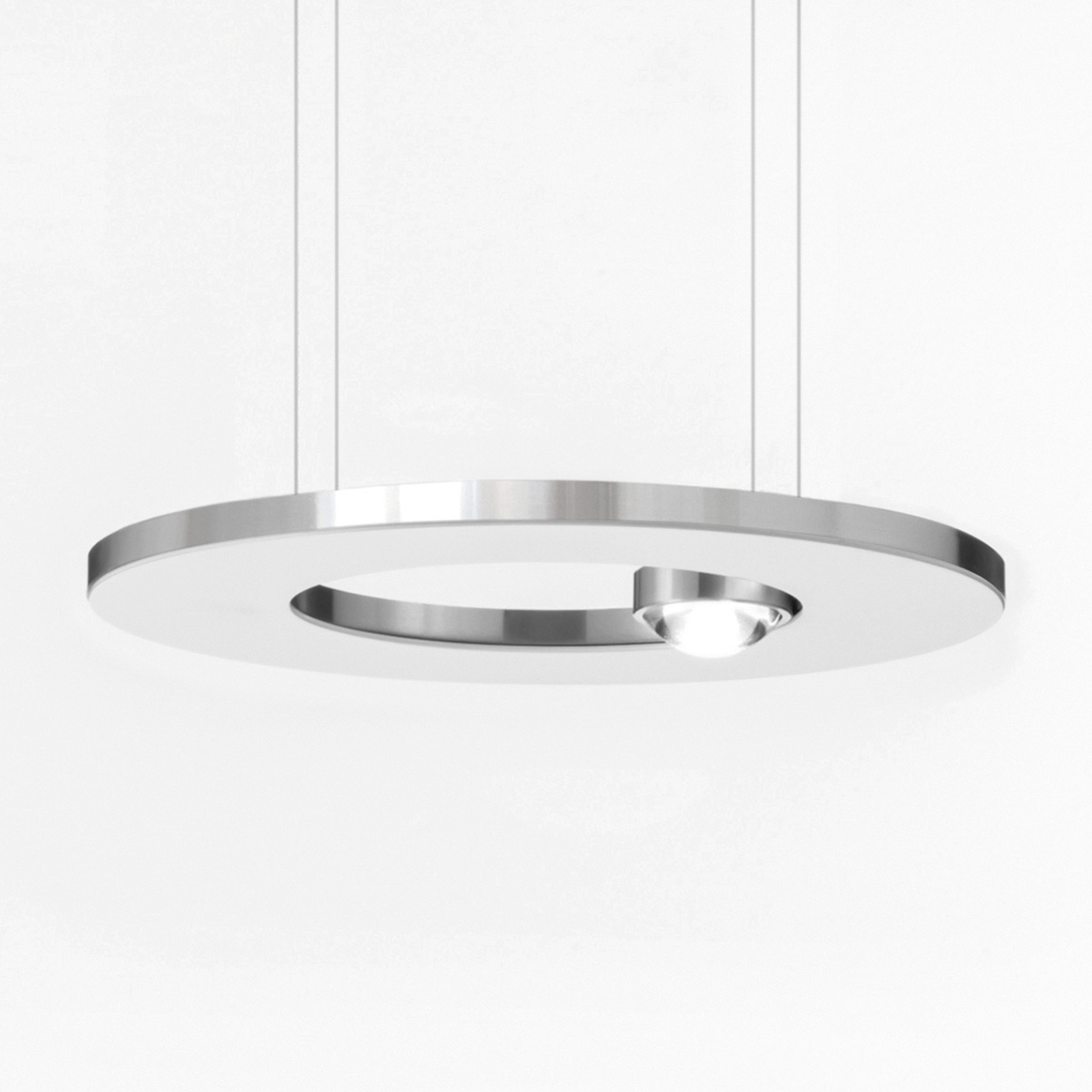 Cini&Nils Passepartout25 lampa wisząca LED biała