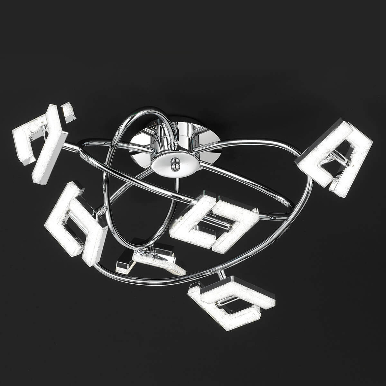 Topmoderne LED-Deckenleuchte Lea - 6-flammig