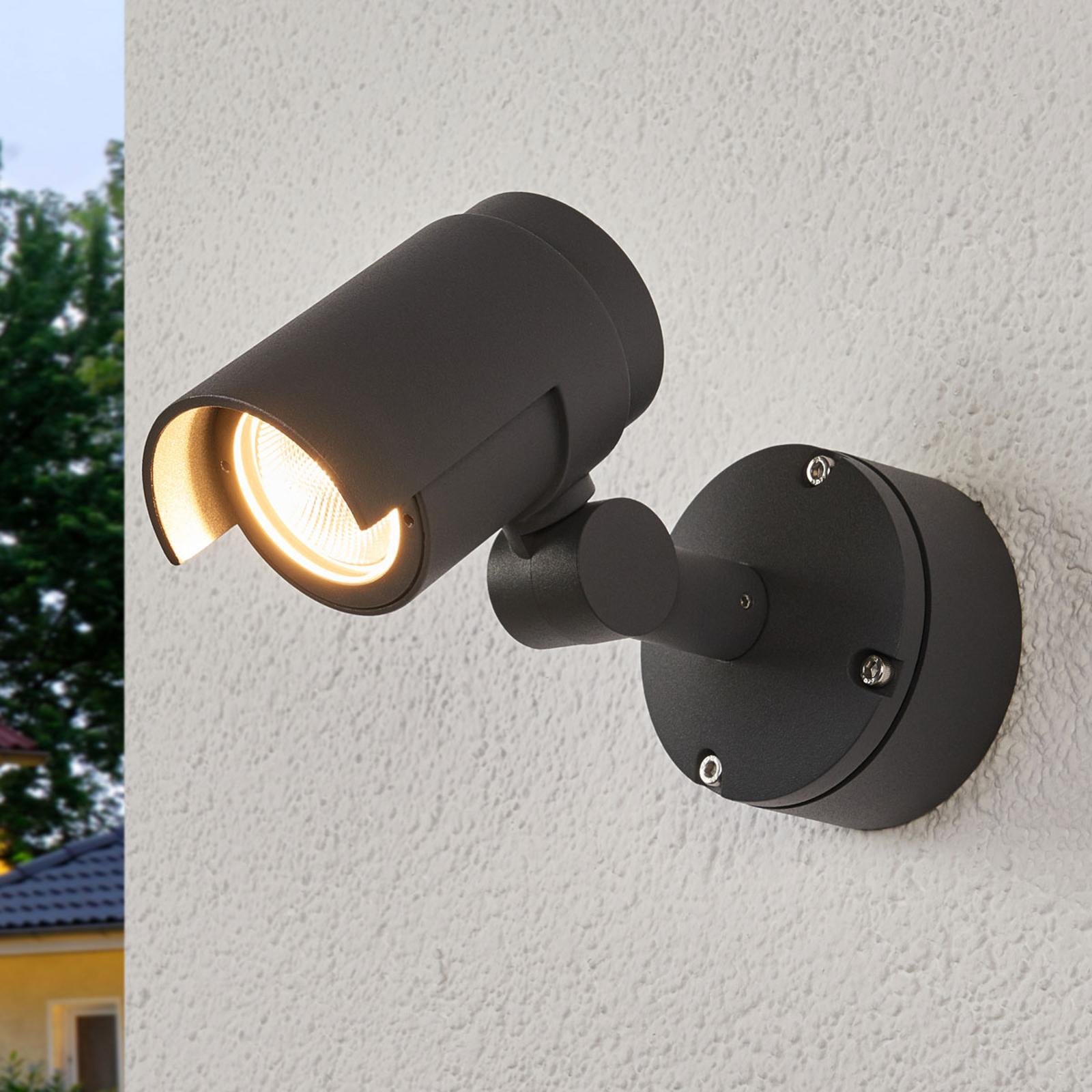 LED-Außenstrahler Beatrix in Dunkelgrau