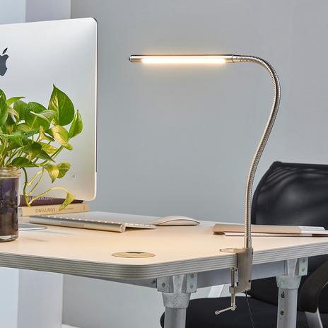 Lampa z zaciskiem LED Lionard