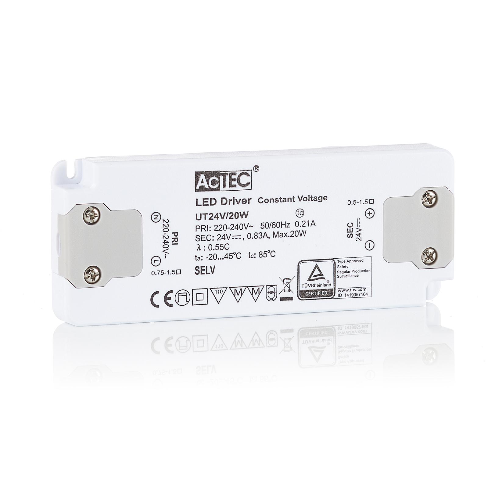 AcTEC Slim LED driver CV 24V, 20W