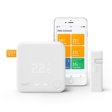 tado° kit de démarrage thermostat intelligent V3+