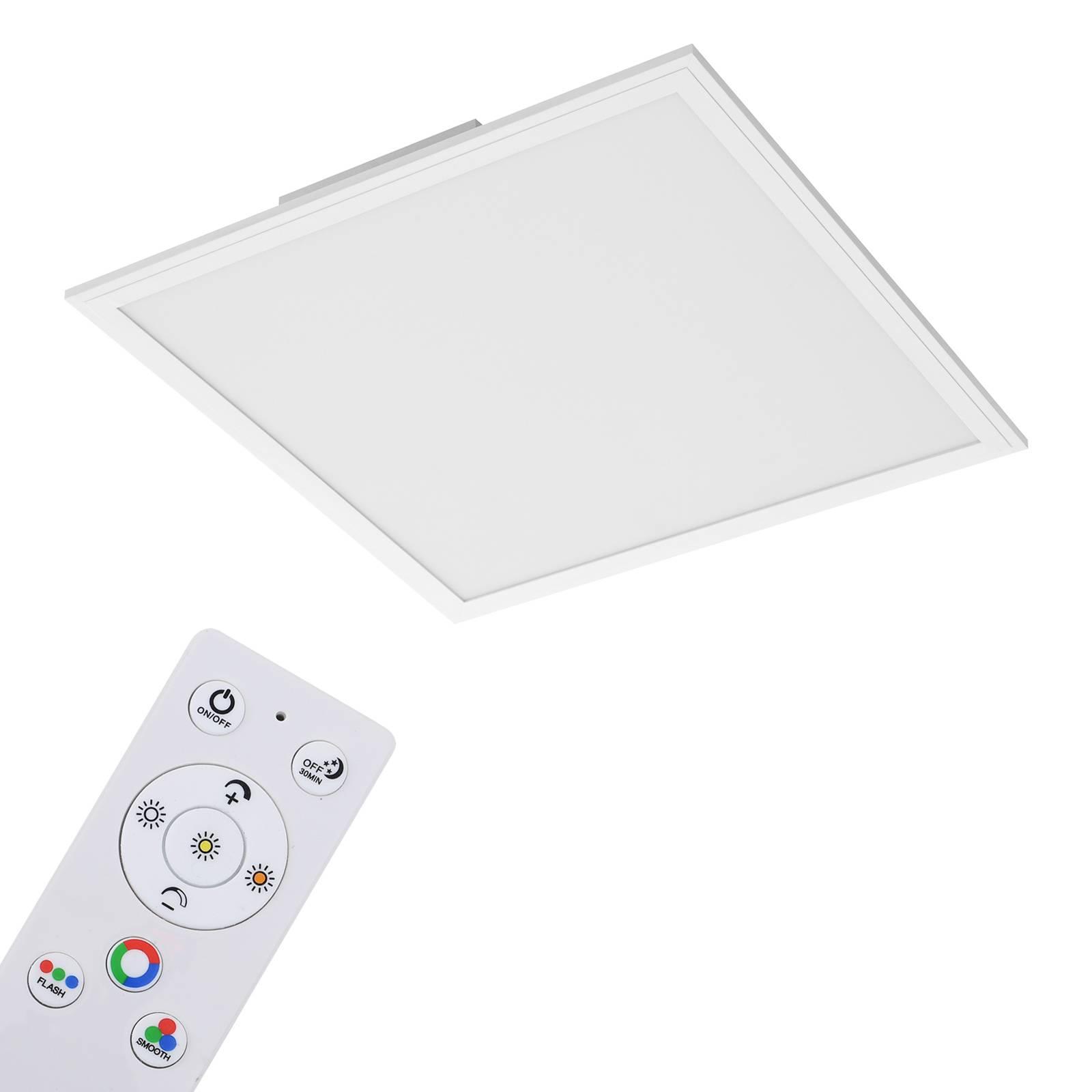 Billede af Colour LED-panel 45cm x 45cm m. fjernbetjening