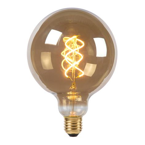 Ampoule globe LED G125 E27 5W 2200K fumée