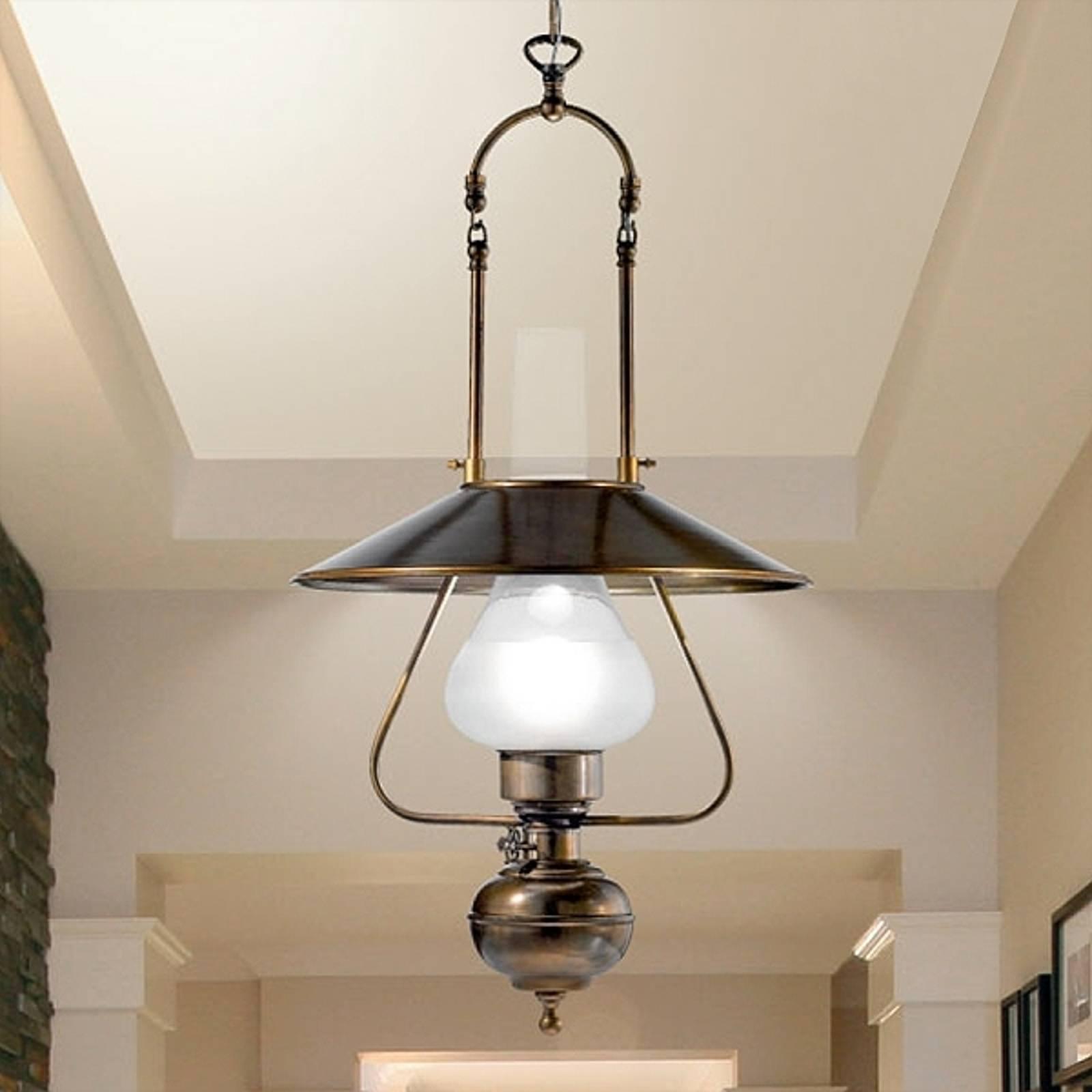Rustykalna lampa wisząca Barchessa